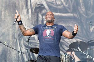 Derrick Green - Derrick Leon Green at Nova Rock Festival 2014