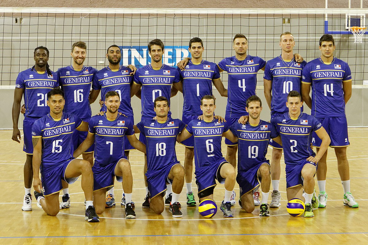 French National Volleyball Team Simple English Wikipedia The Free Encyclopedia