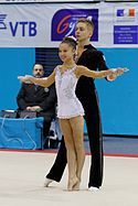 2014 Acrobatic Gymnastics World Championships - Mixed pair - Qualifications - Poland 01.jpg