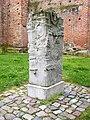 2014 Bad Sülze in Mecklenburg-Vorpommern Gedenkstein an der Kirche.jpg