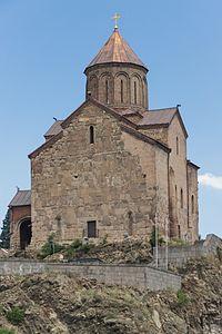 2014 Tbilisi, Cerkiew Metechi (05).jpg