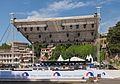 2014 Tbilisi, Podium na placu Europy przed podpisaniem umowy stowarzyszeniowej Gruzja-UE (01).jpg