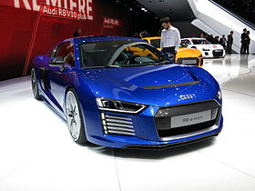 image illustrative de l'article Audi R8 (voiture de route)