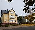 20151011 xl P1000294 Oberhof Stadt am Rennsteig und Umgebung - Restaurant Cafe Pension - Haus Flora.JPG
