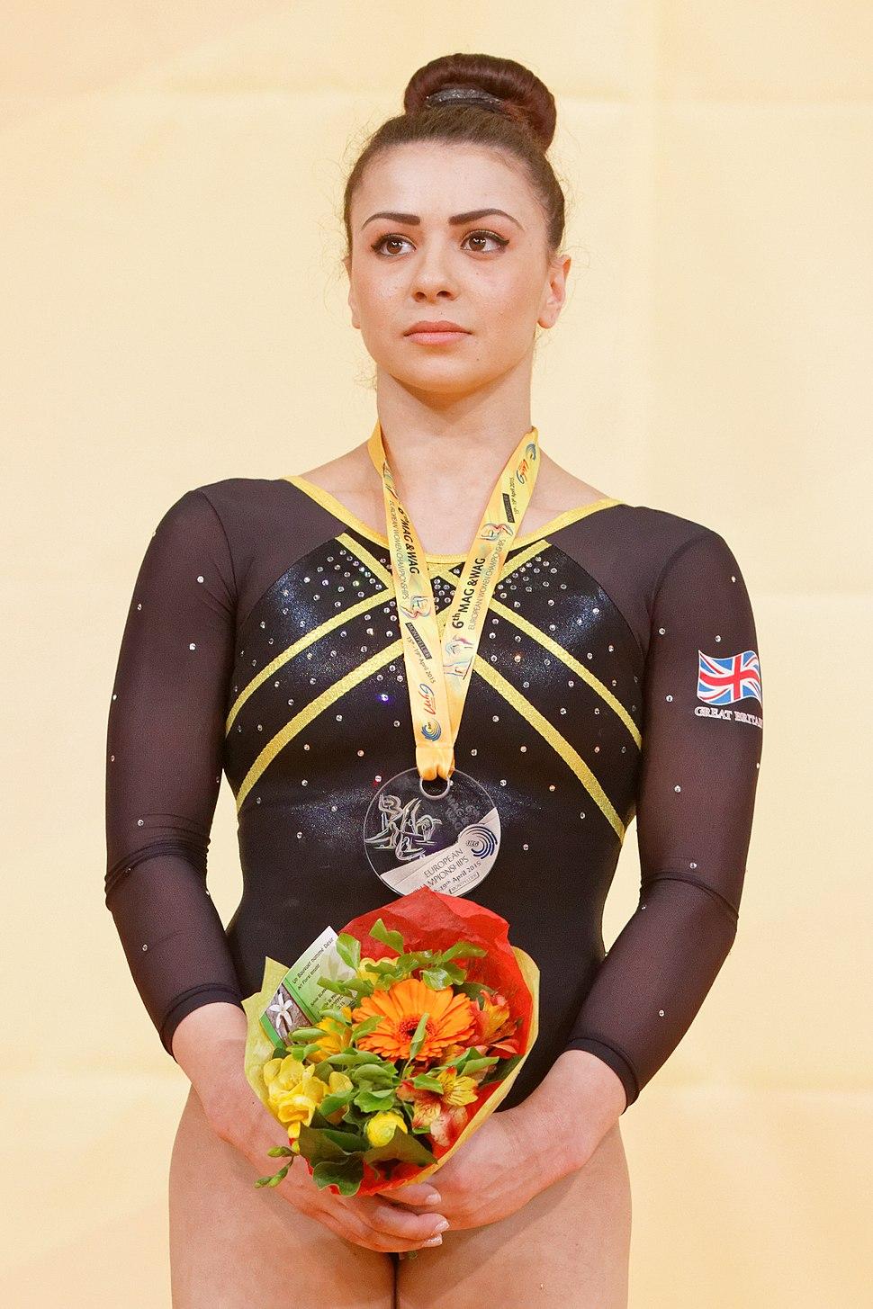 2015 European Artistic Gymnastics Championships - Floor - Medalists 09