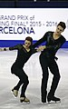2015 ISU Junior Grand Prix Final Marie-Jade Lauriault Romain Le Gac IMG 8143.JPG