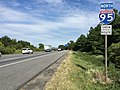 2016-09-16 13 55 45 View north along Interstate 95 just north of Exit 35 (Maryland State Route 216, Laurel, Scaggsville) in North Laurel, Howard County, Maryland.jpg