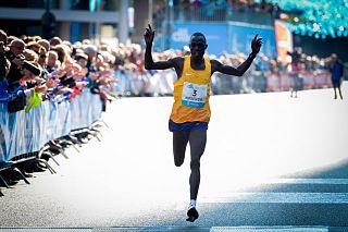 Marius Kipserem Kenyan long-distance runner