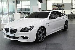 BMW 6 Series (F12) Motor vehicle