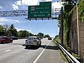 2019-05-27 15 39 05 View west along the outer loop of the Capital Beltway (Interstate 495) at Exit 31 (Maryland State Route 97-Georgia Avenue, Silver Spring, Wheaton) on the edge of Silver Spring and Forest Glen in Montgomery County, Maryland.jpg