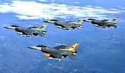 20th Fighter Wing - 4 ship formation