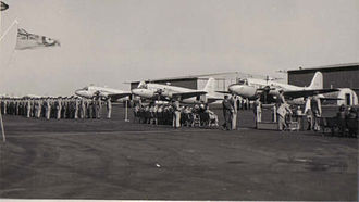 No. 216 Squadron RAF - 216 Sqn Leaving RAF Fayid (Egypt) for UK in 1955