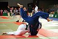 231000 - Judo Anthony Clarke fights Ian Rose 2 - 3b - Sydney 2000 match photo.jpg
