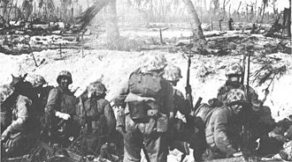 3rd Battalion, 24th Marines - Marines from the 24th Marine Regiment during the Battle of Roi Namur