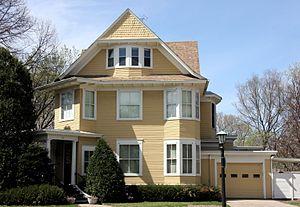 Joseph A. A. Burnquist - Burnquist's home at 27 Crocus Place in St. Paul