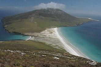 Saunders Island, Falkland Islands - Image: 2884 saunders landscape RJ