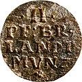 2 Pfennige, Landesdenkmalamt Berlin, Ausgrabung U5, 3072 – 6017, Vorderseite.jpg