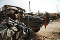 2nd Stryker Cavalry Regiment, patrol in Baghdad, Iraq, Oct. 7, 2007.jpg
