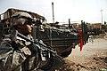 2nd Stryker Cavalry Regiment, patrol in Baghdad, Iraq, Oct. 7, 2007.jpg