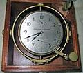 56-hour Marine chronometer Marine Chronometer circa World War Two by British Company Mercer shown is a.jpg