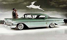 Chevrolet Bel Air Impala uit 1958
