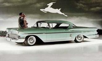 Chevrolet Impala - 1958 Chevrolet Bel Air Impala Sport Coupe