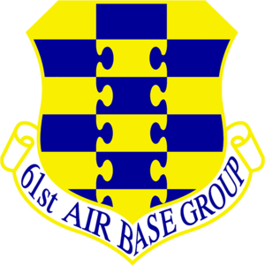 61st Air Base Group - Emblem of the 61st Air Base Group