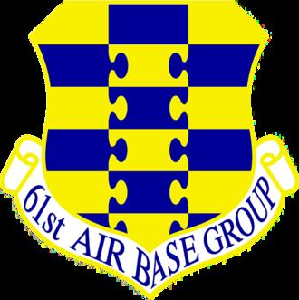 61st Air Base Group - Emblem of the 61st Air Base Group