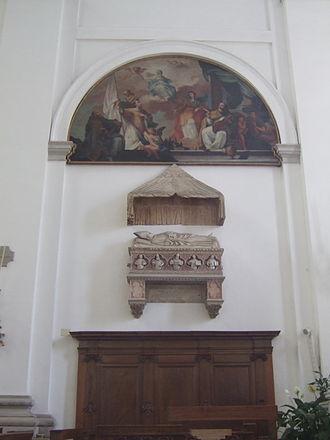 Pietro Pileo di Prata - Padua Cathedral - tomb of the cardinal Pileo da Prata.