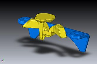 3D printing - CAD model used for 3D printing