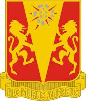 86th Field Artillery Regiment - Image: 86 FA Rgt DUI