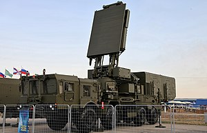 S-400 missile system - 96L6 THE HIGH-ALTITUDE DETECTOR