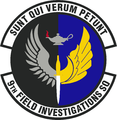 9 Field Investigations Sq emblem.png