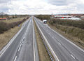 A64 road, Malton, North Yorkshire, 29 March 2013.jpg