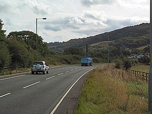 A660 road - Image: A660 near Otley
