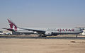A7-BAI B777-3DZER Qatar Airways (5512025287).jpg