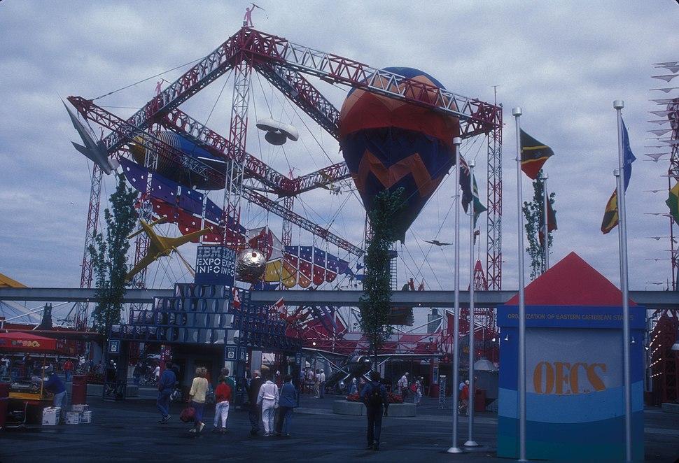 AIR PLAZA AT EXPO 86, VANCOUVER, B.C.