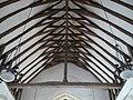 A 14th century roof in the church of St. Bartholomew, Goodnestone - geograph.org.uk - 1147485.jpg