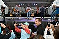 A person in the crowd takes a selfie with recording Artist Jimmy Buffett and the Coral Reefer Band. (30386552480).jpg