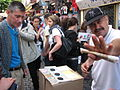 A photo of a gambling stand in Paris.jpg