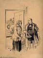 A physician talking to his patient's wife on his way out aft Wellcome V0016103.jpg