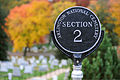 A sign is seen at Arlington National Cemetery in Arlington, Va., Nov. 2, 2013 131102-G-ZX620-984.jpg