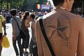 A star is born at Paris Pride parade 2015.jpg