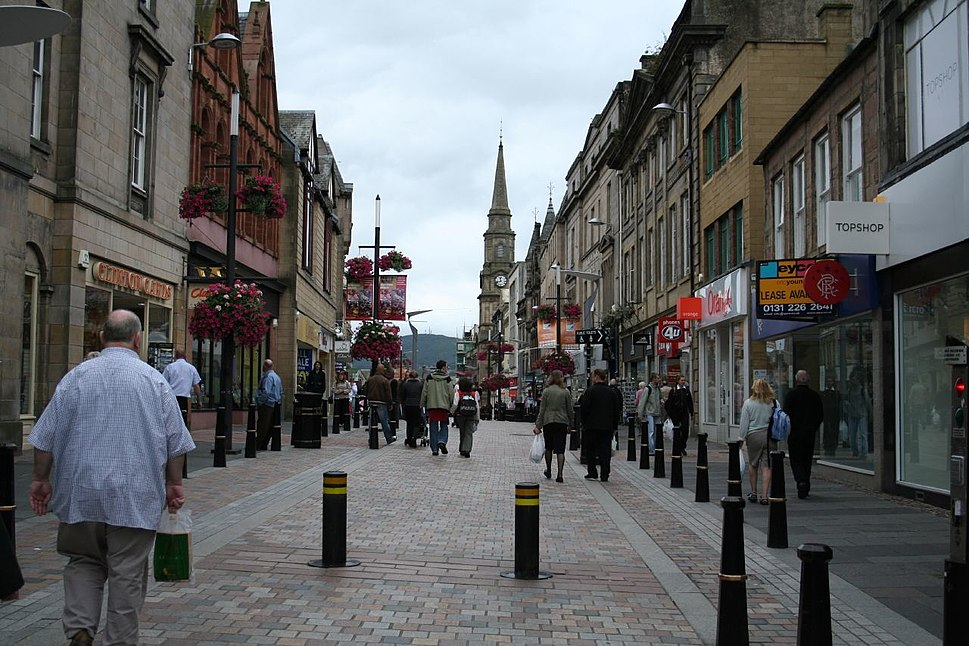 A street in inverness
