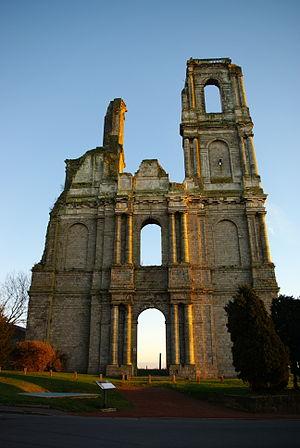 Mont-Saint-Éloi - Abbey of Mont Saint-Éloi