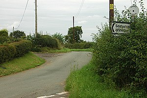 Abbey Green, Shropshire - Image: Abbey Green junction geograph.org.uk 1440456