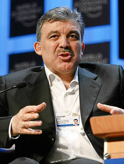 399px Abdullah G%C3%BCl Davos Greece 'about to sink,' Turkish president says