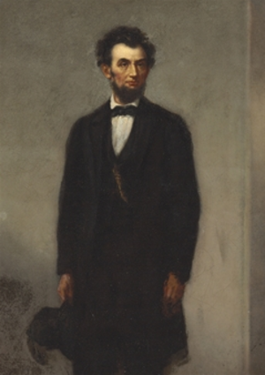 Joseph Alexander Ames - Portrait of Lincoln by Ames, ca.1865