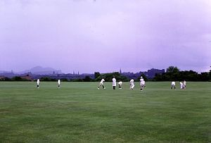 Edinburgh Academy - Saturday morning cricket