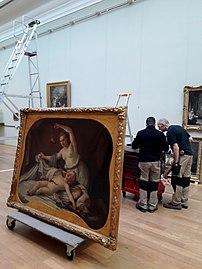 Accrochage Galerie Chardin et son temps Palais des Beaux-Arts de Lille.jpg